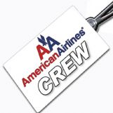American Airlines Crew Tag